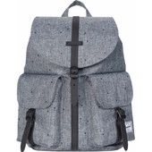 Herschel Dawson X-Small Scattered Raven Crosshatch/Black Rubber