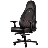 Noblechairs ICON Gaming Stoel Zwart/Rood