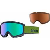 Anon Helix 2.0 Spare Forest Green + Green Solex & Amber Lenzen