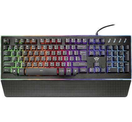 game toetsenbord goedkoop - De Trust GXT 860 Mechanical toetsenbord