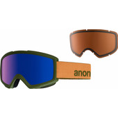 Anon Helix 2.0 Spare Orange + Blue Cobalt & Amber Lenzen