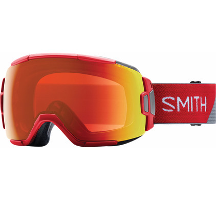Smith Vice Fire Split + Everyday Red Mirror Lens