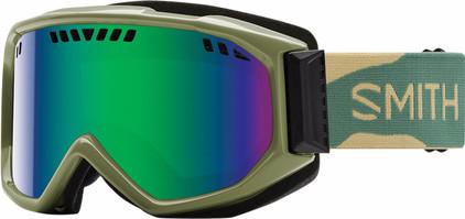 Smith Scope Pro Camo + Green Sol X Lens