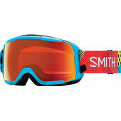 Smith Grom Junior Cyan Burnside + Everyday Red Mirror Lens