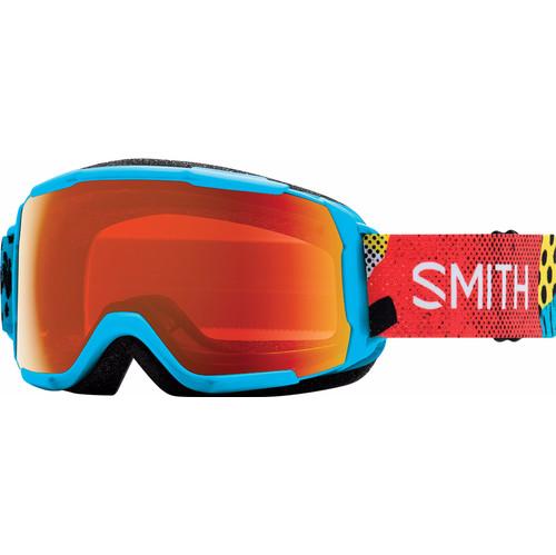 Smith Grom Junior Cyan Burnside + Everyday Red Mirror Lens
