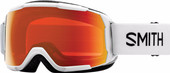 Smith Grom Junior White + Everyday Red Mirror Lens