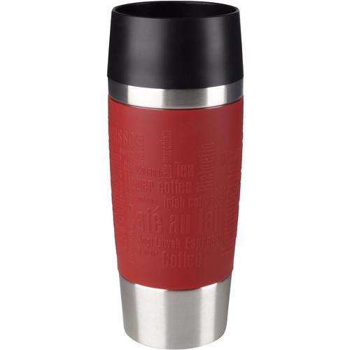 Tefal Travel Mug 0,36 liter RVS/rood