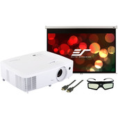 Bioscoop en gaming pakket - Optoma HD27