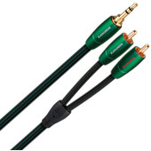 AudioQuest Evergreen 3,5 mm naar RCA 1 meter