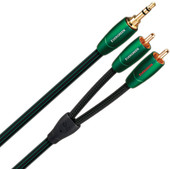 AudioQuest Evergreen 3,5 mm naar RCA 2 meter