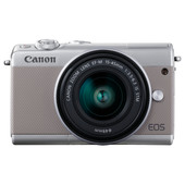 Canon EOS M100 Zilver + 15-45mm IS STM