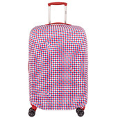 Delsey Travel Necessities Suitcase Cover M/L Blue/White/Red