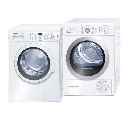 Bosch WAQ28363NL + Bosch WTY87700NL