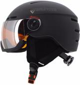 Brunotti Oberon 4 Unisex Black + Orange Mirror Vizier (59 - 61 cm)