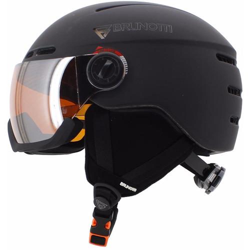Brunotti Oberon 4 Unisex Black + Orange Mirror Vizier (53 -