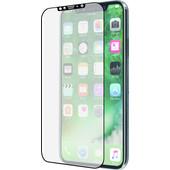 Azuri Apple iPhone X Screenprotector Curved Gehard Glas Zwart