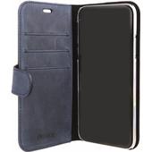 Valenta Classic Luxe Vintage Apple iPhone X Book Case Blauw