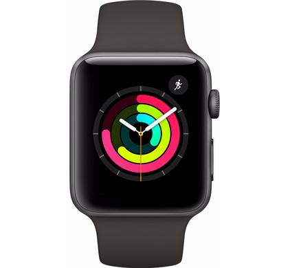 Apple Watch Series 3 38mm Space Grey Aluminium/Grijs