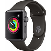 Apple Watch Series 3 38mm Space Grey Aluminium/Grijs
