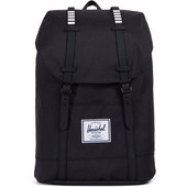 Herschel Retreat Black/Black Rubber/White Inset