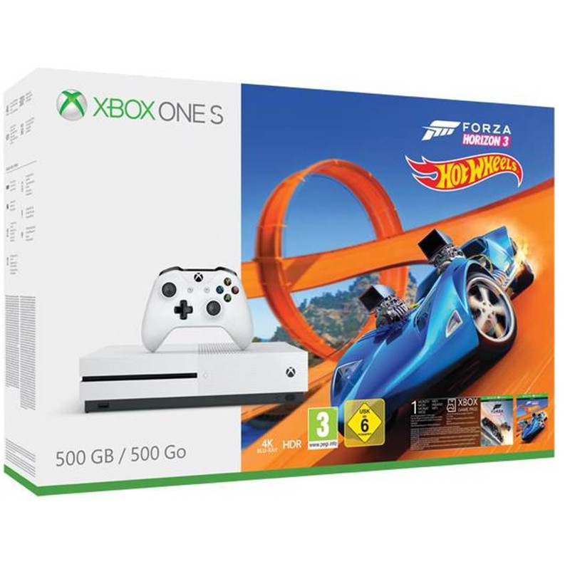 Microsoft Xbox One 500 S GB Forza Horizon 3 Hot Wheels Bundel kopen
