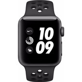 Apple Watch Series 3 Nike+ 38mm Space Grey Aluminium/Zwart Sportband