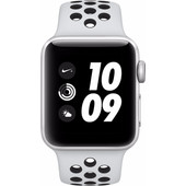 Apple Watch Series 3 Nike+ 38mm Zilver Aluminium/Zwart Sportband