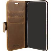 Valenta Classic Luxe Vintage Apple iPhone X Book Case Bruin