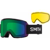 Smith Squad Black + Everyday Green Mirror & Yellow Lenzen