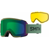 Smith Squad Olive + Everyday Green Mirror & Yellow Lenzen