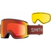 Smith Squad Adobe Split + Everyday Red Mirror & Yellow Lenzen
