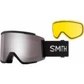Smith Squad Black + Sun Platinum Mirror & Yellow Lenzen