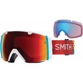 Smith I/O Burnside + Sun Red Mirror & Storm Rose Flash Lenzen