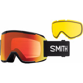 Smith Squad Black + Everyday Red Mirror & Yellow Lenzen