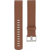 Fitbit Charge 2 Leren Horlogeband Bruin Large