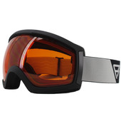 Brunotti Downhill 5 Unisex Matte Black + Orange Lens