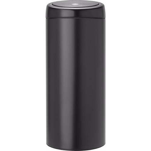 Brabantia Touch Bin 30 Liter Mat Zwart