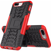 Just in Case Rugged Hybrid OnePlus 5 Back Cover Rood