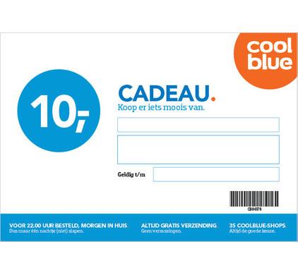 Coolblue Cadeaubon 10 euro