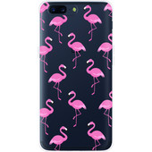 Just in Case OnePlus 5 Back Cover Flamingo