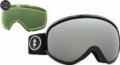 Electric Masher Gloss Black + Brose Silver Chrome & Light Green Lenzen
