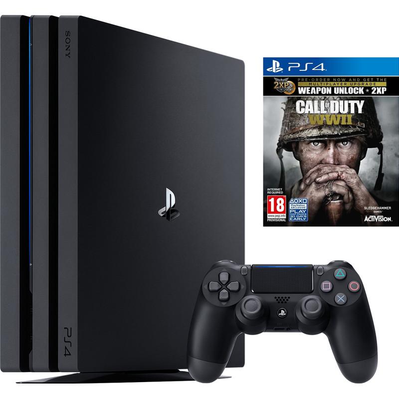 Sony PlayStation 4 Pro 1 TB COD WWII Bundel kopen