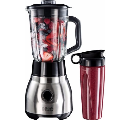 Russell Hobbs 2in1 Stainless Steel Jug Blender