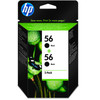 HP 56 Cartridge Zwart (C9502AE)
