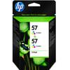HP 57 Double Combo Pack 3-Kleuren