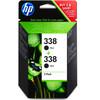 HP 338 Double Pack Zwart (CB331EE)