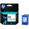 verpakking HP 22 Combo Pack 3-Kleuren (HPC9352A)