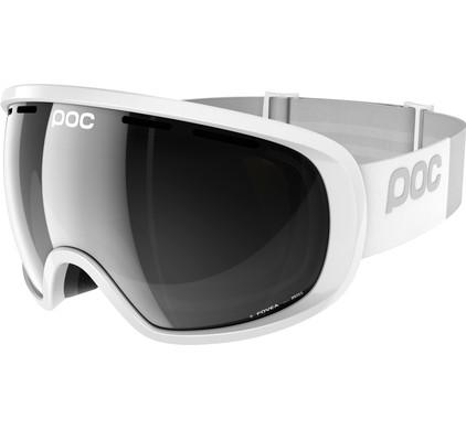 POC Fovea Hydrogen White + Bronze Silver Mirror Lens