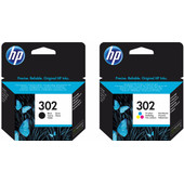 HP 302 Cartridge Zwart + 3-Kleuren