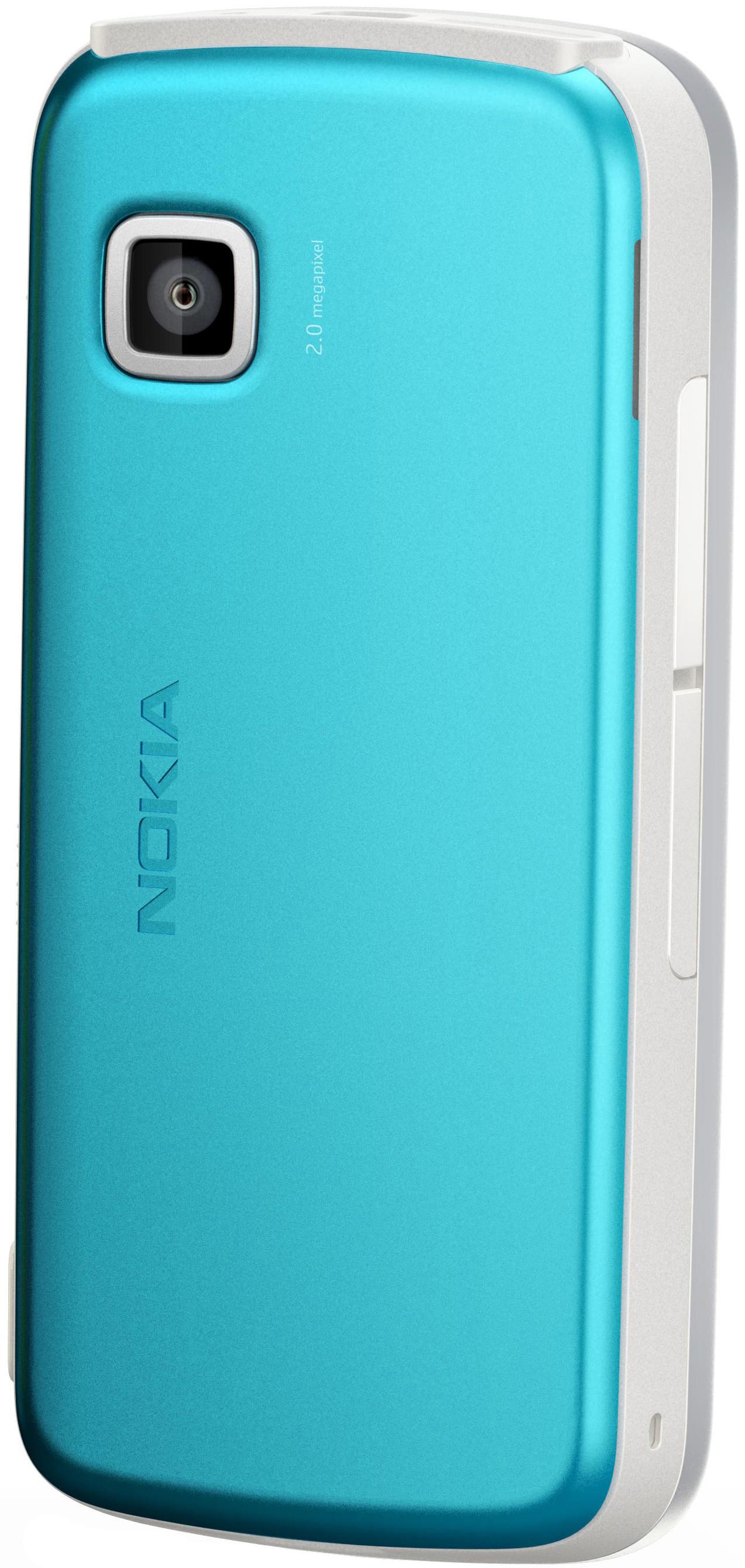 Nokia 5230 White Blue